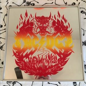 AC/DC Highway To Hell Mirror (Music Merch Band)